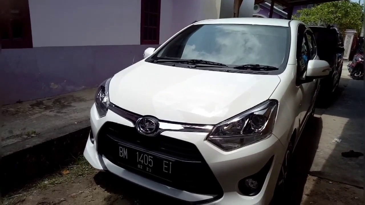 new agya trd silver grand avanza 1.5 g m/t limited toyota 1 2 m t 2018 white youtube