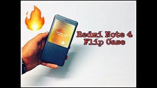 smart Flip Cover xiaomi redmi note 4