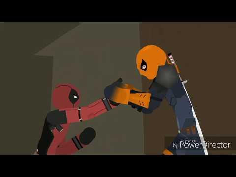 Deadpool VS Deathstroke(Stick Nodes) PREVIEW