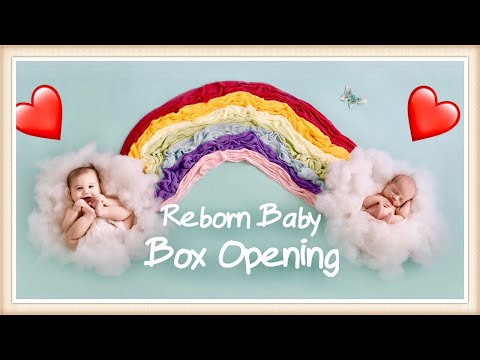 RUSSIAN Reborn Baby Doll BOX OPENING by a MASTER PROTOTYPE ARTIST - Atticus Eagles