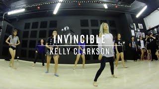 Invincible (Kelly Clarkson)   Step Choreography