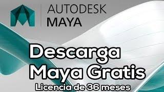 Tutoriales de Maya - Descargar e Instalar Maya Autodesk Gratis