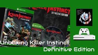 Unboxing Killer Instinct Edición Definitiva para Xbox One