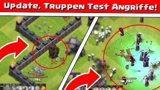 Clash of Clans | Update, Truppen test Angriffe! | Reazor [Deutsch/German|HD]