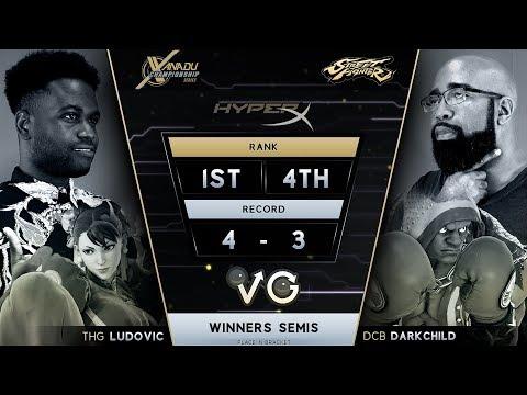 XCS FGC Finals SFV - THG | Ludovic (Chun-Li) Vs. DCB | Darkchild (Balrog) Street Fighter V Ws