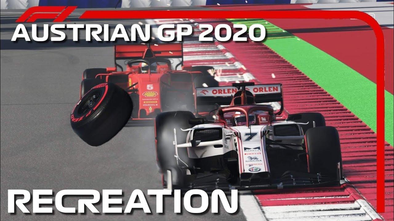 F1 2020 GAME: RECREATING THE 2020 AUSTRIAN GP