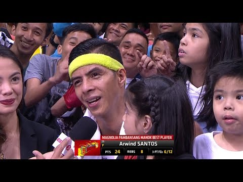 Arwind Santos REACTS To Being Booed During Interview (VIDEO)