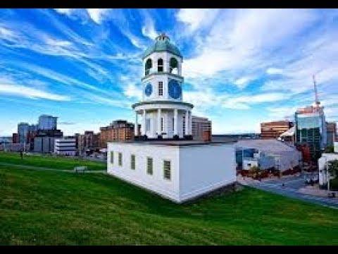 Halifax, Nova Scotia, Canada, 4K