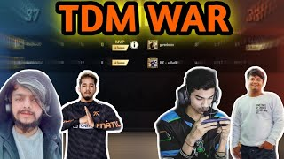 Fnatic Scout, 4KingGuru, Soul Regaltos And Gareeb TDM WAR | Part 1 | Gaming Guru