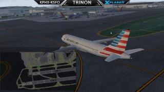 FFA320 - VA Flying - KPHX to KSFO - Freeware Scenery and Ortho4XP