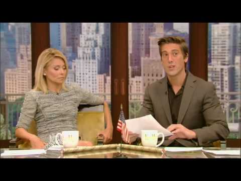 Live! With Kelly and Co-Host David Muir | 15 August 2016 | Matthew McConaughey ,Margo Martindale