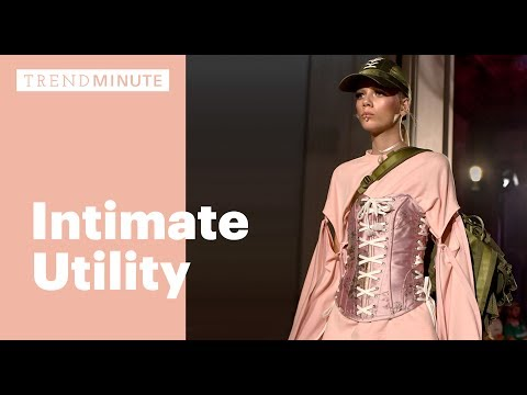 Trend Minute: Intimate Utility