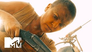 Charlize Theron & More of The Cast Discuss The Warrior Women of 'Mad Max' | MTV News
