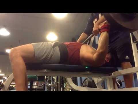Mark Mcentee - 260 lb. Paused Bench Press x3 MAKE!