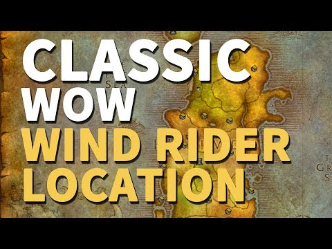 Moonglade Flight Master Location Wow Classic Alliance Youtube
