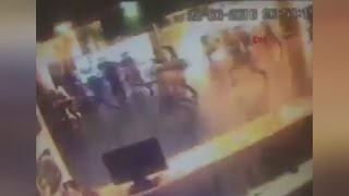 Istanbul: Distressing CCTV footage shows moment of attack