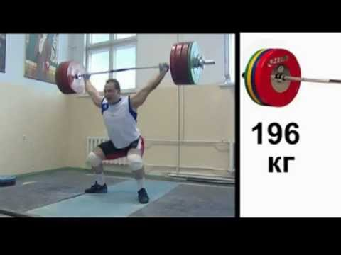 Ilya Ilin -  Training, Snatch 196 kg