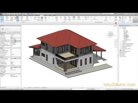 สอน Revit Architecture 2016 Intro THAI