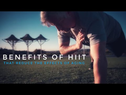 Benefits of HIIT to reduce the effects of aging