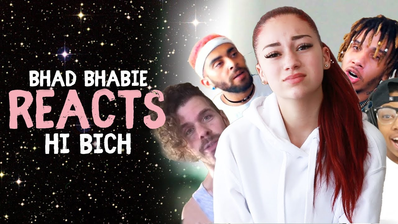 """Danielle Bregoli reacts to BHAD BHABIE """"Hi Bich / Whachu Know"""" roasts and reaction vids - Danielle Bregoli reacts to BHAD BHABIE """"Hi Bich / Whachu Know"""" roasts and reaction vids"""