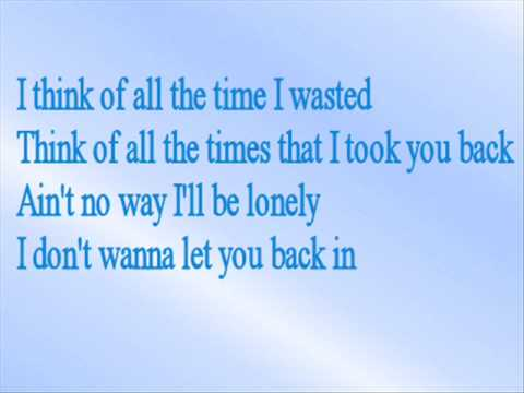 Britney Spears - Lonely (With Lyrics)