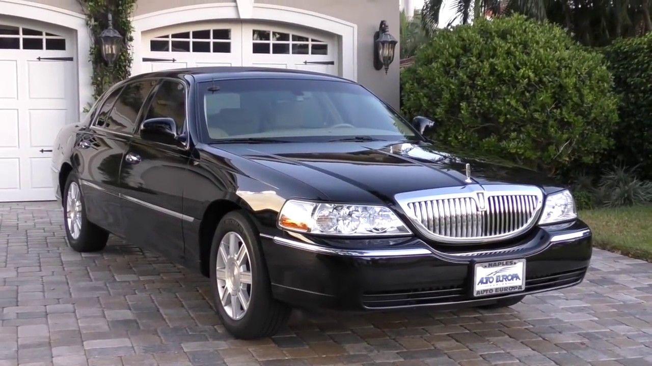 2007 Lincoln Town Car Executive L Livery Review And Test Drive By Bill Auto Europa Naples Youtube