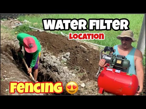 HOUSE BUILDING IN THE PHILIPPINES - EPSODE 125: FENCING STARTED l WATER FILTER LOCATION from YouTube · Duration:  22 minutes 53 seconds
