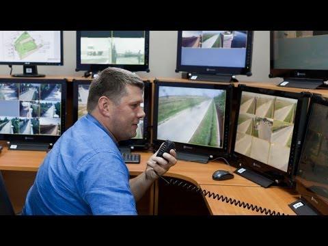 """Видеонаблюдение на периметре коттеджного поселка """"Белый Берег"""""""