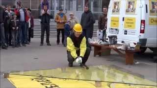 «Краш-Тест» Закаленного Стекла В Барнауле
