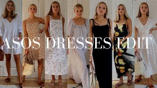 ASOS DRESSES HAUL & TRY-ON | ASOS LOOKBOOK SUMMER 2019 | LYDIA TOMLINSON