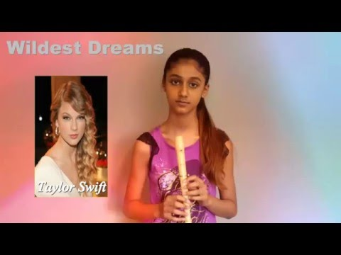 Wildest Dreams -Taylor Swift - Recorder cover