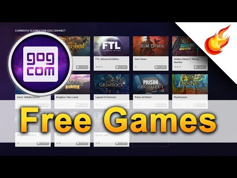 Claim Your FREE GOG CONNECT GAMES
