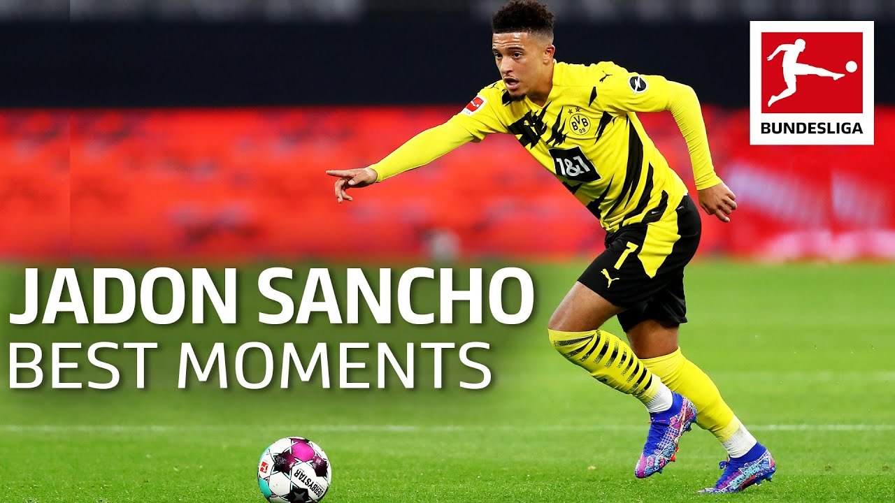 Download Jadon Sancho - Best Moments, Goals, Skills & More