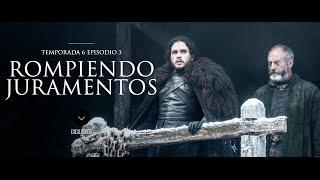 Ver Juego de tronos temporada 6 capítulo 3 Latino (S06E03) HD descarga por mega