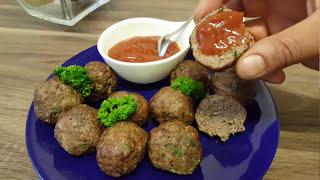 Bolinhas de Carne Moída na Airfryer