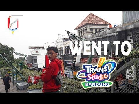 WENT TO TRANS Studio Bandung || VLOG #01
