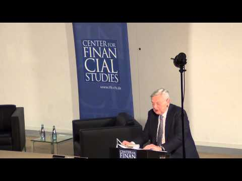 George Soros CFS Otmar Issing Frankfurt am Main 09.04.2013