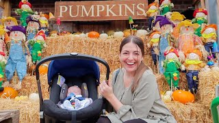 FAMILY OUTING! Baby's First Pumpkin Patch!