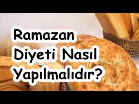 Ramazan Diyeti Nasıl Yapılmalıdır