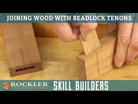 Building Furniture with BeadLock Floating Tenons | Rockler Skill Builders