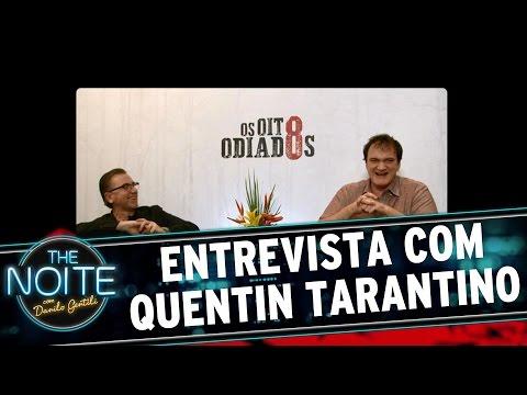 The Noite (29/12/15) - Léo Lins Entrevista Quentin Tarantino
