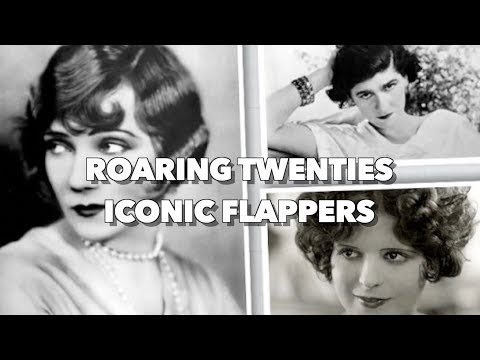 "Top 5 Most Iconic & Beautiful Flappers of the ""Roaring Twenties"""