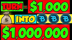 HOW TO TURN $1,000 INTO $1,000,000 WITH THIS CRYPTO!!!