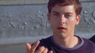 Человек-Паук (2002) - Первое тестирование паутины [1080p]