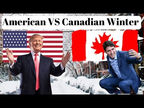 American VS Canadian Winter