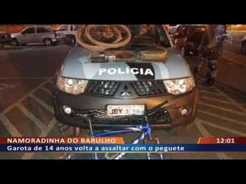 DFA - Garota de 14 anos volta a assaltar com o peguete