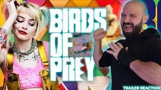 BIRDS OF PREY (HARLEY QUINN) - OFFICIAL TRAILER #1 - REACTION! | BLURAY DAN