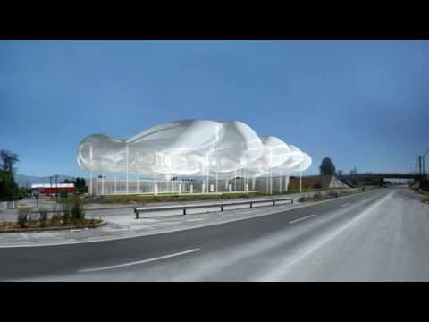 raumspielkunst - the cloud - a new generation of gas station