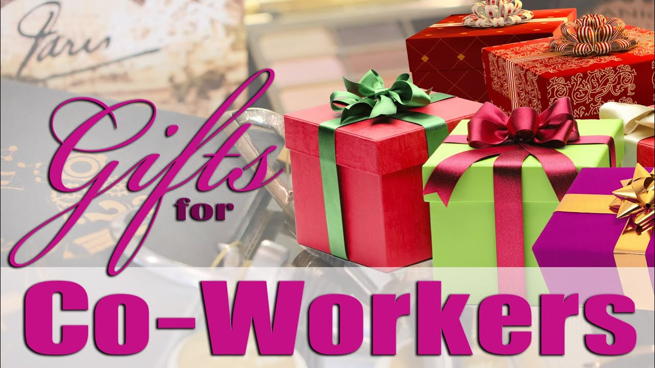 Gifts Ideas For Coworkers Under 20 Youtube