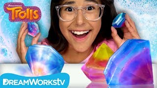 Rainbow Gem Soap | TROLLS DIYS